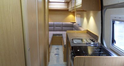 2 berth interior