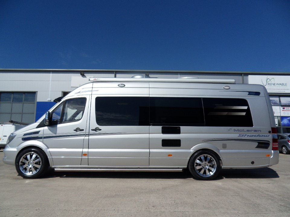 Luxury rv sprinter for Mercedes benz luxury rv