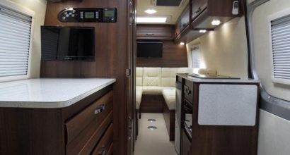Mclaren Shadow Conversion - 2 berth Luxury Mercedes Motorhome