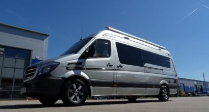 L Shape Lounge Sporthome - Mercedes Sprinter LWB