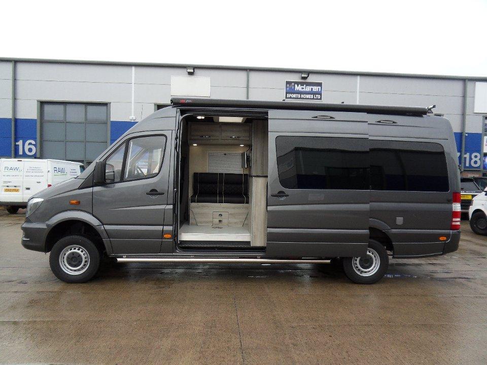 Solar Powered Camper >> 4 x 4 Mercedes Sprinter Sporthome LWB – Mclaren Sports Homes Ltd | Luxury Sporthome & Motorhome ...