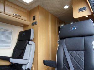 519 mercedes sprinter motorhome interior