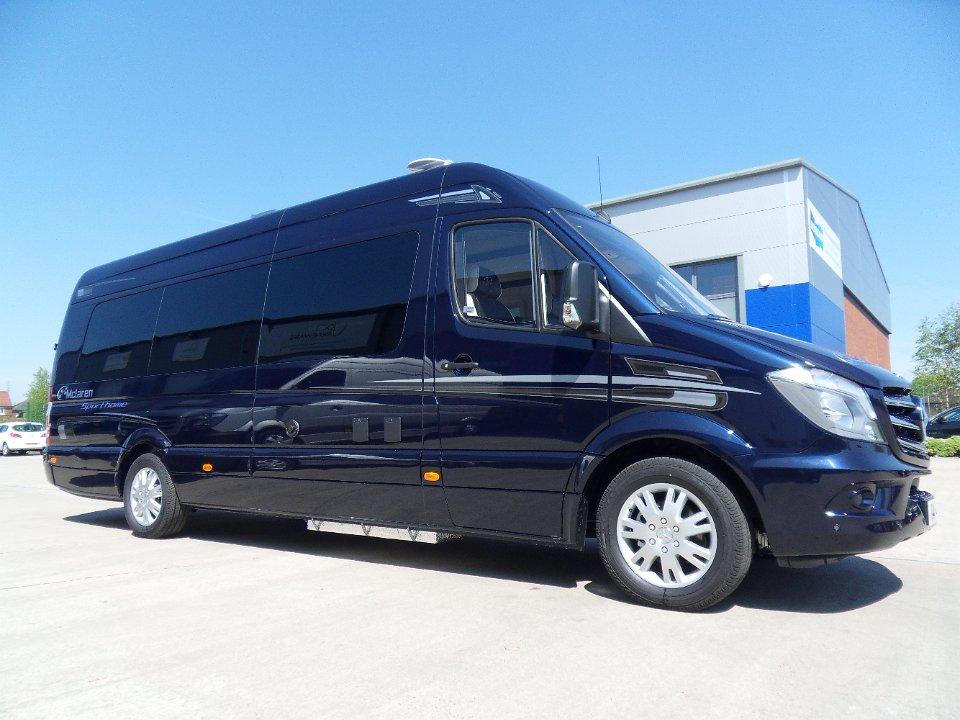 Mclaren Sporthome - Extra LWB Cavansite Blue - Mclaren ...