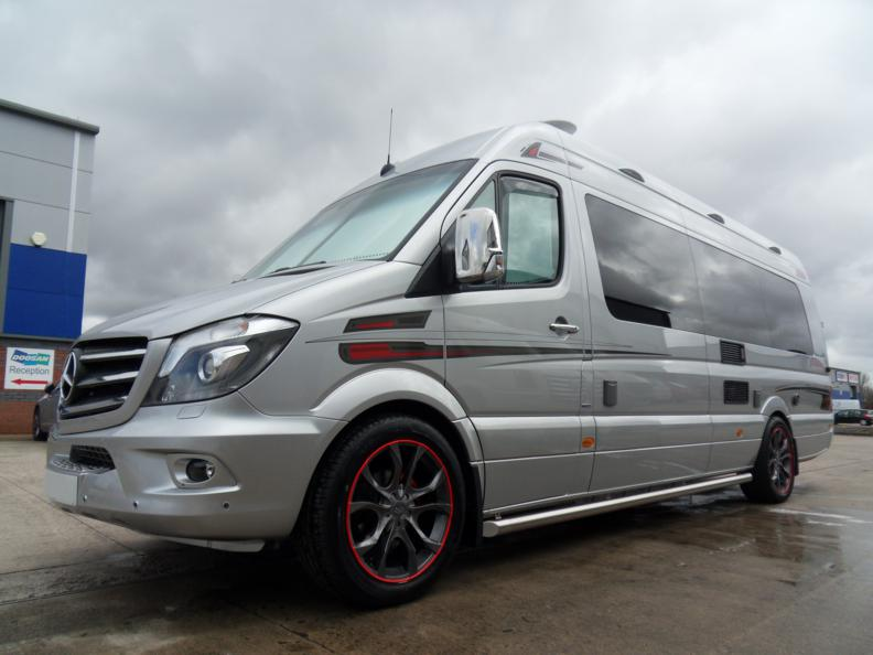 For Sale- Left hand Drive Luxury Motorhome – 319 V6 Extra