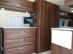 dark walnut interior