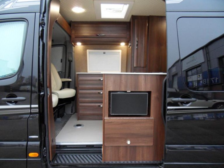 motorhome external Tv