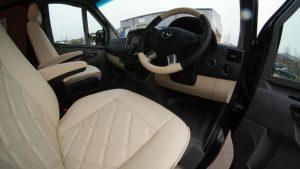 Sprinter leather dashboard