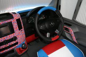 custom GB steering wheel