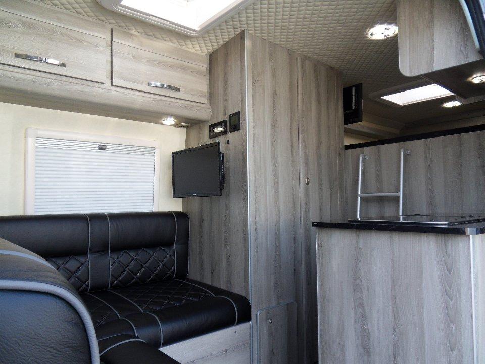 2016 Mercedes Sprinter >> VW Crafter LWB Sporthome - L Shape Lounge Motocross ...