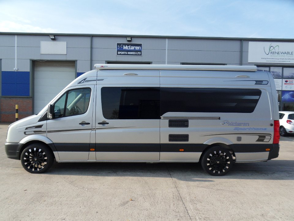 Vw Crafter Lwb Sporthome L Shape Lounge Motocross