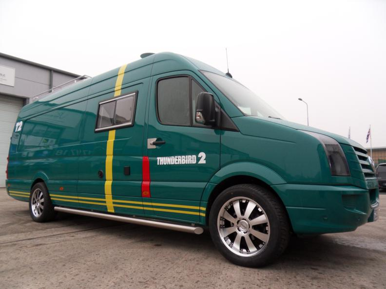 Thunderbird T2 – VW Crafter Sporthome – Mclaren Sports Homes Ltd