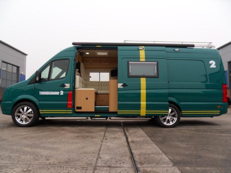 VW crafter Sporthome exterior side door