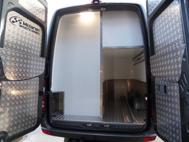 4 X 4 Mercedes Sporthome Side Garage Layout Mclaren