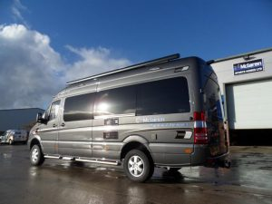 Graphite Grey Metallic Sprinter