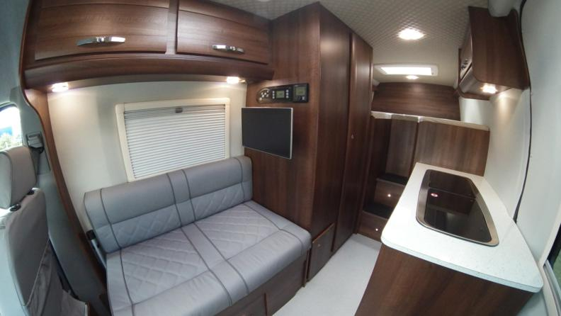 Vw Camper Van >> VW Crafter – Sporthome – Stepped Bed Layout – Mclaren Sports Homes Ltd   Luxury Sporthome ...