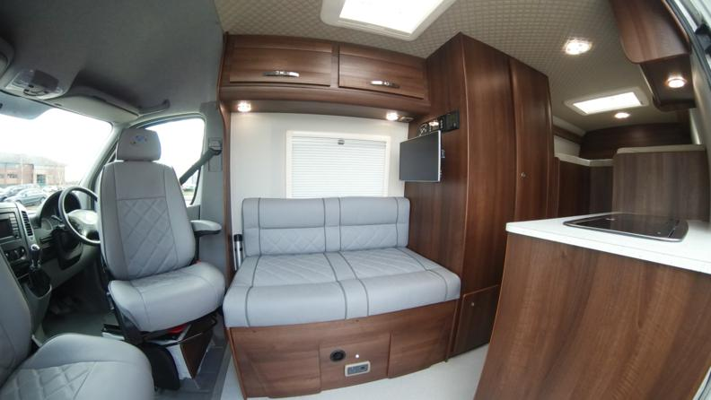 Vw Crafter Sporthome Stepped Bed Layout Mclaren