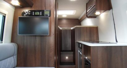 For Sale - VW Crafter - Sporthome - Stepped Bed Layout