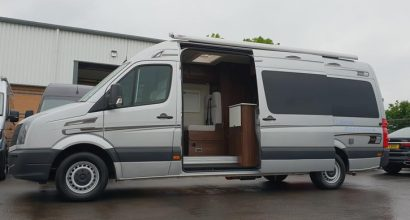 VW Crafter Sporthome Low Fixed Bed
